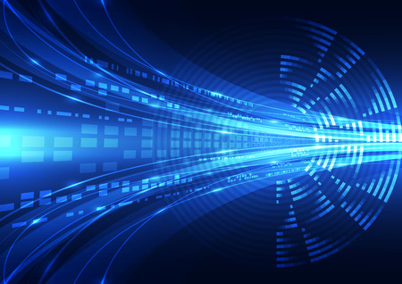 abstract vector digital future technology background illustration 일러스트
