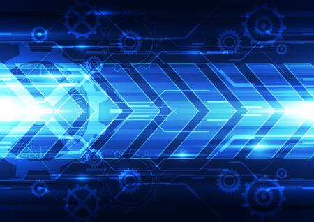 abstract illustration: abstract vector future technology speed background illustration