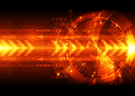 abstract vector digital technology background illustration