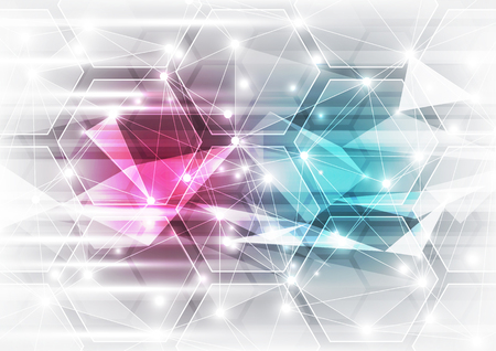 abstract background vector: abstract vector technology background illustration