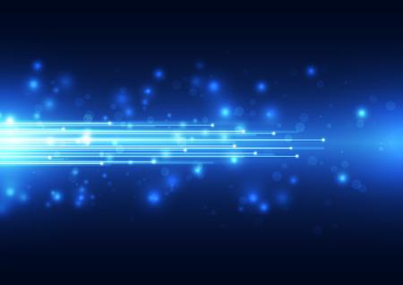 speed: La tecnología vector resumen de antecedentes, la ilustración