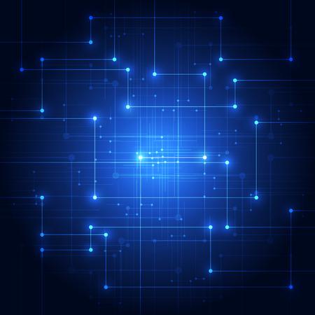 Abstract technology background. Illustration Vector Stock Illustratie