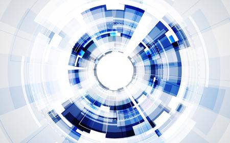 digital background: Abstract futuristic digital technology background. Illustration Vector