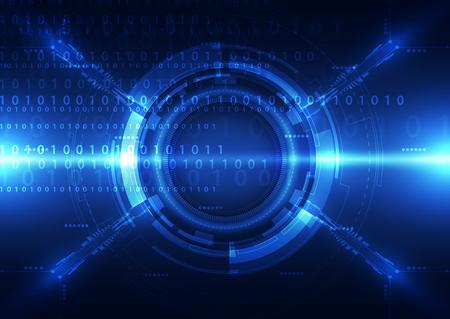 spy: technology abstract digital background, vector illustration Illustration