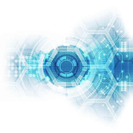Abstract future hi-speed technology background, illustration