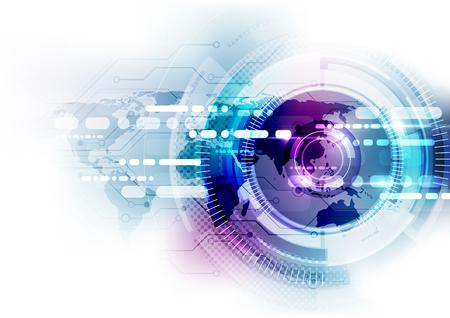 Digitales concepto de la tecnología de comunicación global, resumen de antecedentes Foto de archivo - 56634475