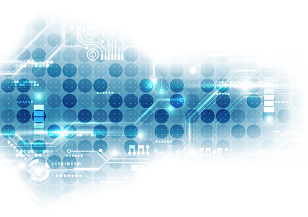 digital background: Technology futuristic digital. technology circuit board. technology chip set. abstract background.