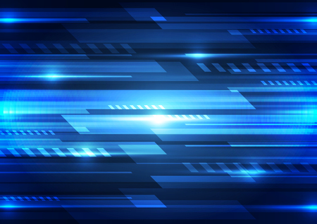 speed: digital speed technology concept, abstract background Illustration
