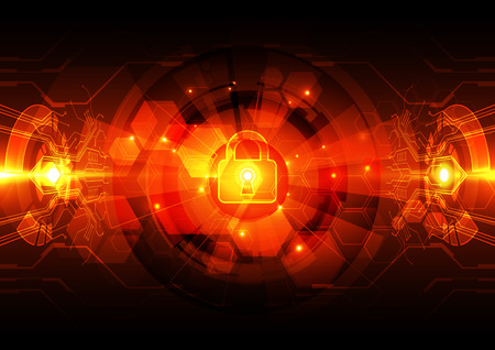 digital background: Abstract security digital technology background.