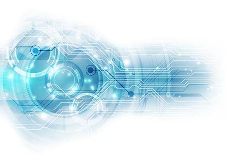 Abstract technology background ,vector illustration Illustration