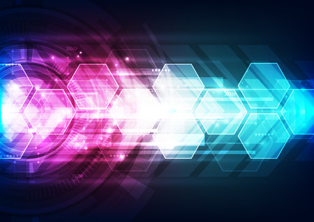 speed: vector digital speed technology concept, abstract background