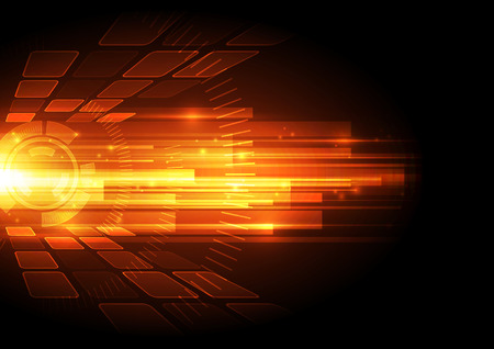 vector digital speed technology concept, abstract background