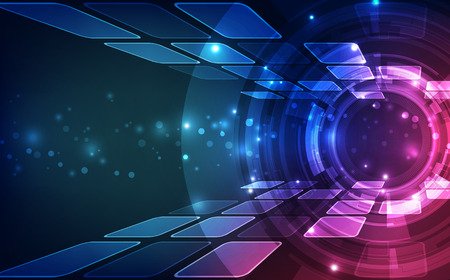 digital abstract: Abstract digital technology concept. vector background