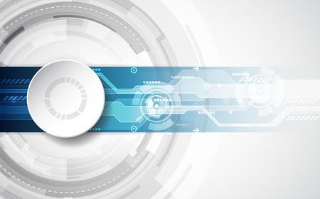 デジタル技術の抽象的な概念。ベクトルの背景