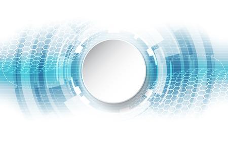 Resumen concepto de fondo tecnológico con diversos elementos tecnológicos. ilustración del vector Foto de archivo - 73134803