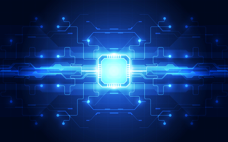ベクトル グラフィックス。チップ プロセッサ速度技術の背景。ベクトル図