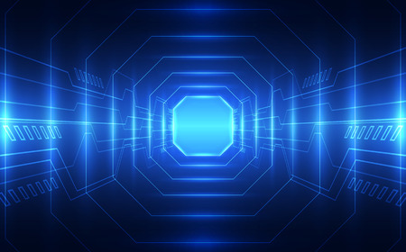 Abstract technology speed concept. vector illustration background Illustration