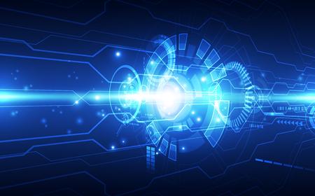 Resumen tecnología digital futurista