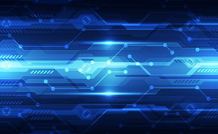 Technologie numérique futuriste abstraite Vecteurs