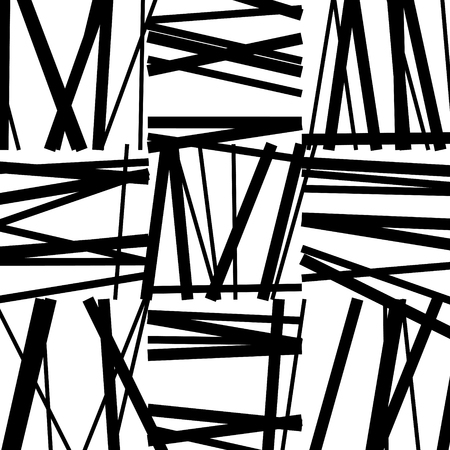 Abstract striped background. Vector art.
