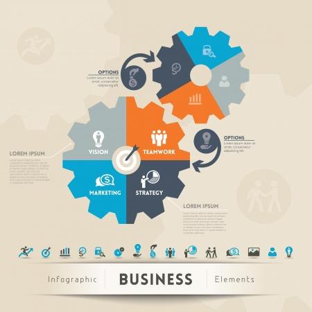 negócio: Conceito Negócios Ilustração