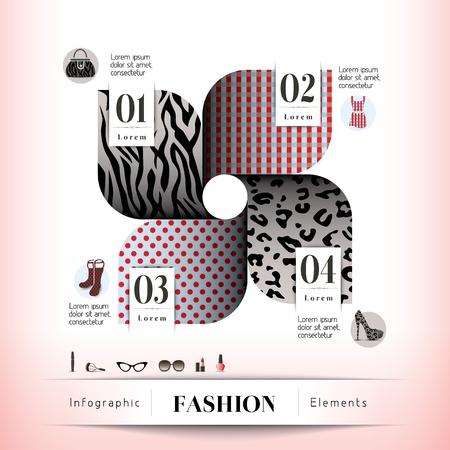nail polish: Fashion Concept Illustration