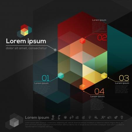 conceito: Formas Geom�tricas Abstract Design Layout Ilustração