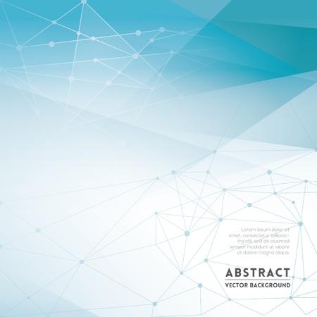 RESEAU: Réseau abstrait arrière-plan pour le Web Design  impression  Présentation