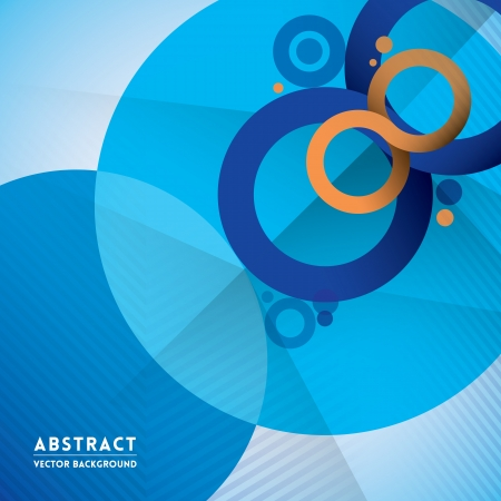 Abstract Infinity Symbol and Circle Shape Background for Web Design  Print  Presentation Vector
