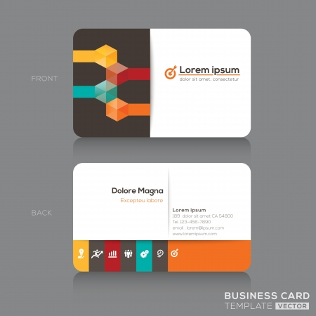 name tag: Business cards Design Template