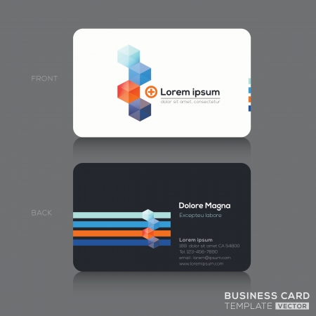 namecard: Business cards Design Template