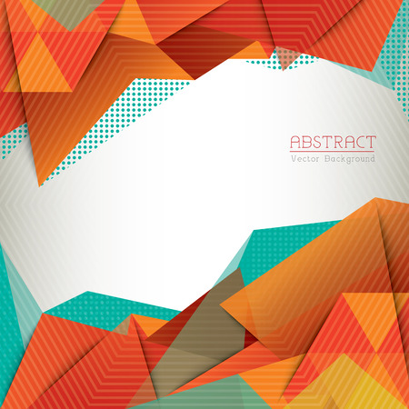 abstract template: Abstract Triangle Shape Background layout for Web Design  Book Cover  Brochure Illustration