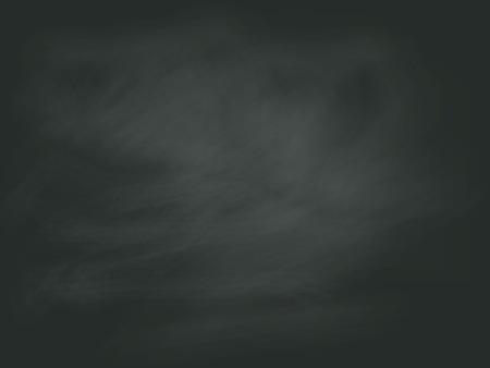 abstracte zwart krijt boord achtergrond vector Stock Illustratie