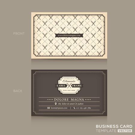 Classic Business card Design Template