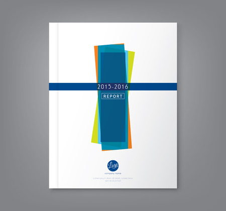 informe: Mínima formas geométricas Fondo abstracto del diseño para los negocios informe anual del cartel folleto folleto portada del libro
