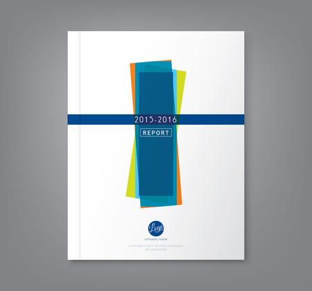 Résumé minimale formes géométriques fond conception pour le rapport annuel d'affaires affiche couverture du livre brochure flyer