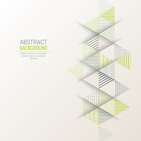 abstract triangle line stripe pattern vector background Vettoriali