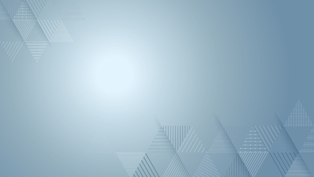 abstract triangle line stripe pattern with bright light vector background, 16:9 aspect ratio