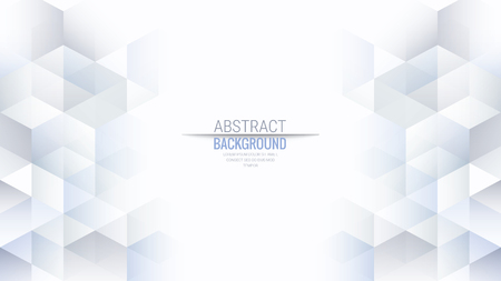 Abstract Isometric Shape Background for Business / Web Design / Print / Presentation, 16:9 aspect ratio 일러스트