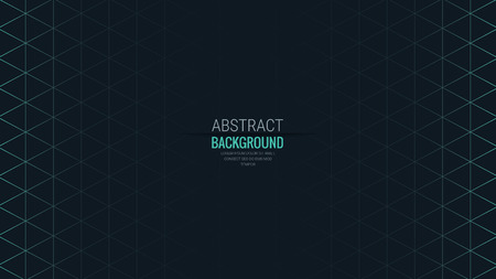 Abstract Isometric Shape line Background for Business / Web Design / Print / Presentation, 16:9 aspect ratio