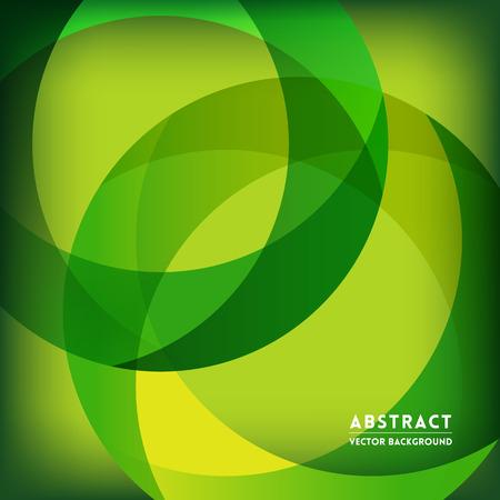 Groene Abstracte Cirkel Shape achtergrond voor het bedrijfsleven  Web Design  Print  Presentatie Stock Illustratie