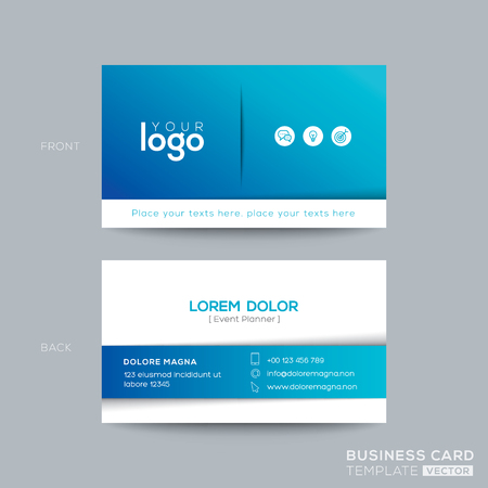 Clean and simple blue business card namecard design royalty free clean and simple blue business card namecard design stock vector 74047619 friedricerecipe Images