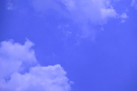 Background, Blue sky with soft clouds
