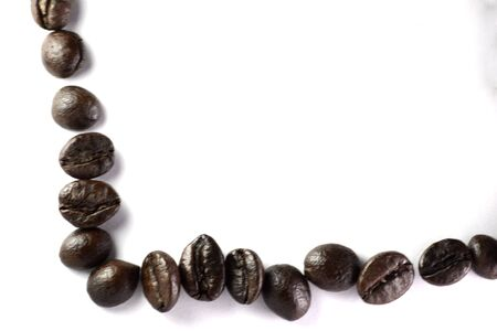 Creativity with coffee beans Stok Fotoğraf