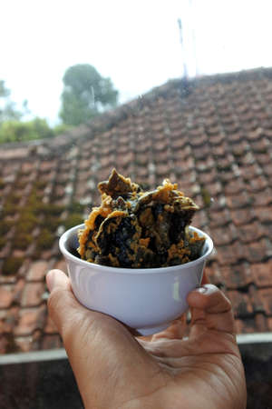 Snacks food, chips of A. auricula-judae Mushroom