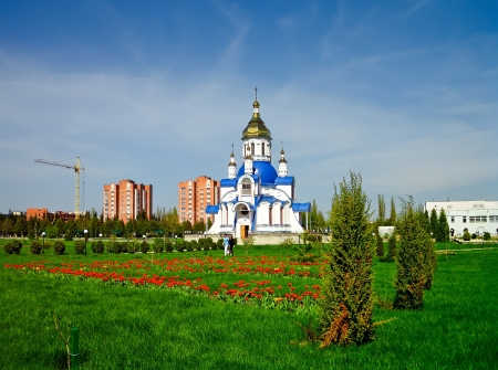 sumy: The Church of Saint Valentine is in the territory of Sumy National Agrarian University