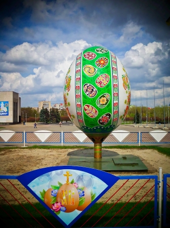 sumy: Easter egg Sumy selected the three best Ukrainian Easter eggs