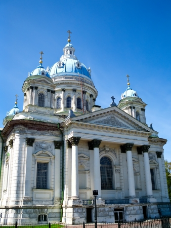 sumy: Trinity Cathedral - Orthodox church  Architectural style - neoclassicism, built in the early 20th century