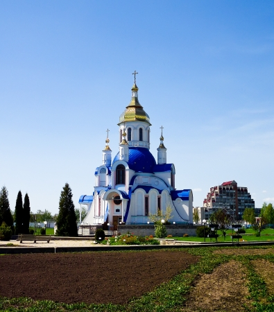 sumy: The Church of Saint Valentine is in the territory of Sumy National Agrarian University, Ukraine