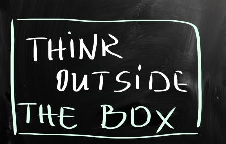Think outside the box photo